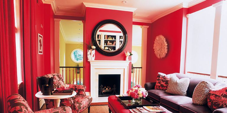 Red Paint, Accessories and Home Decor - How To Decorate With Red