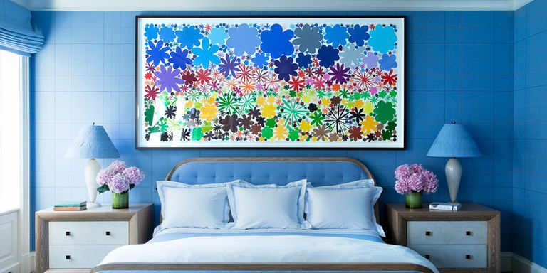 Blue Paint, Accessories and Home Decor - How To Decorate With Blue