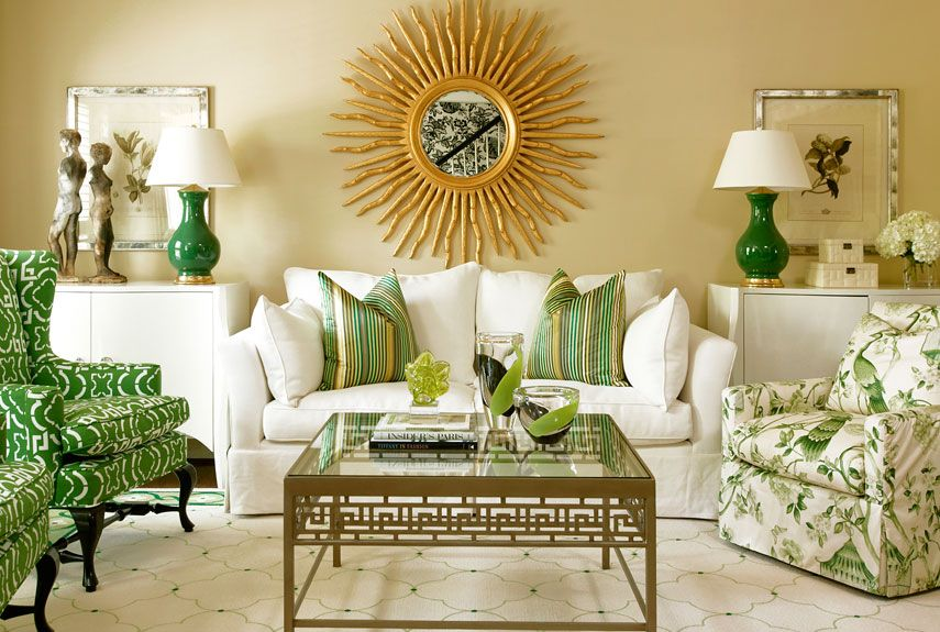 Green And Yellow Paint, Accessories And Home Decor   How To Decorate With  Green Part 50