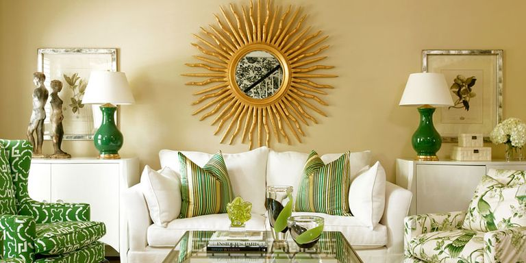 Green and Yellow Paint, Accessories and Home Decor - How To Decorate ...