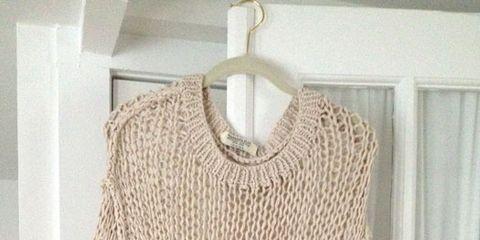 Openwork knits