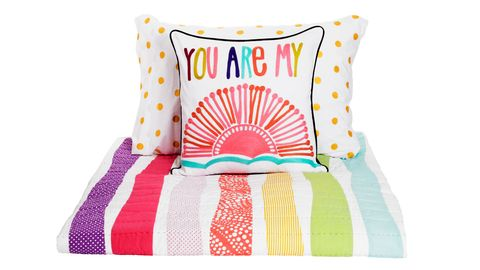 rainbow kids bedding