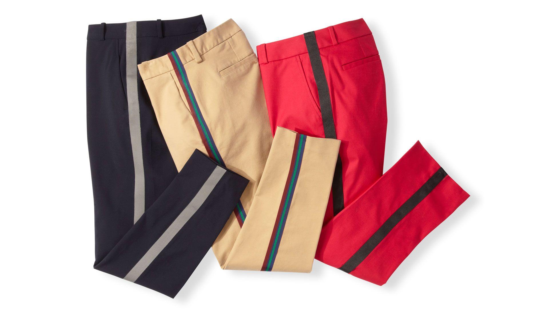 diy striped pants