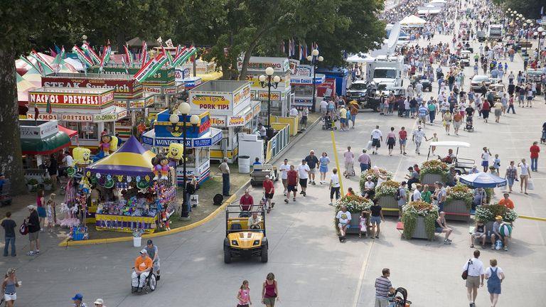 Iowa state fair dates in Australia