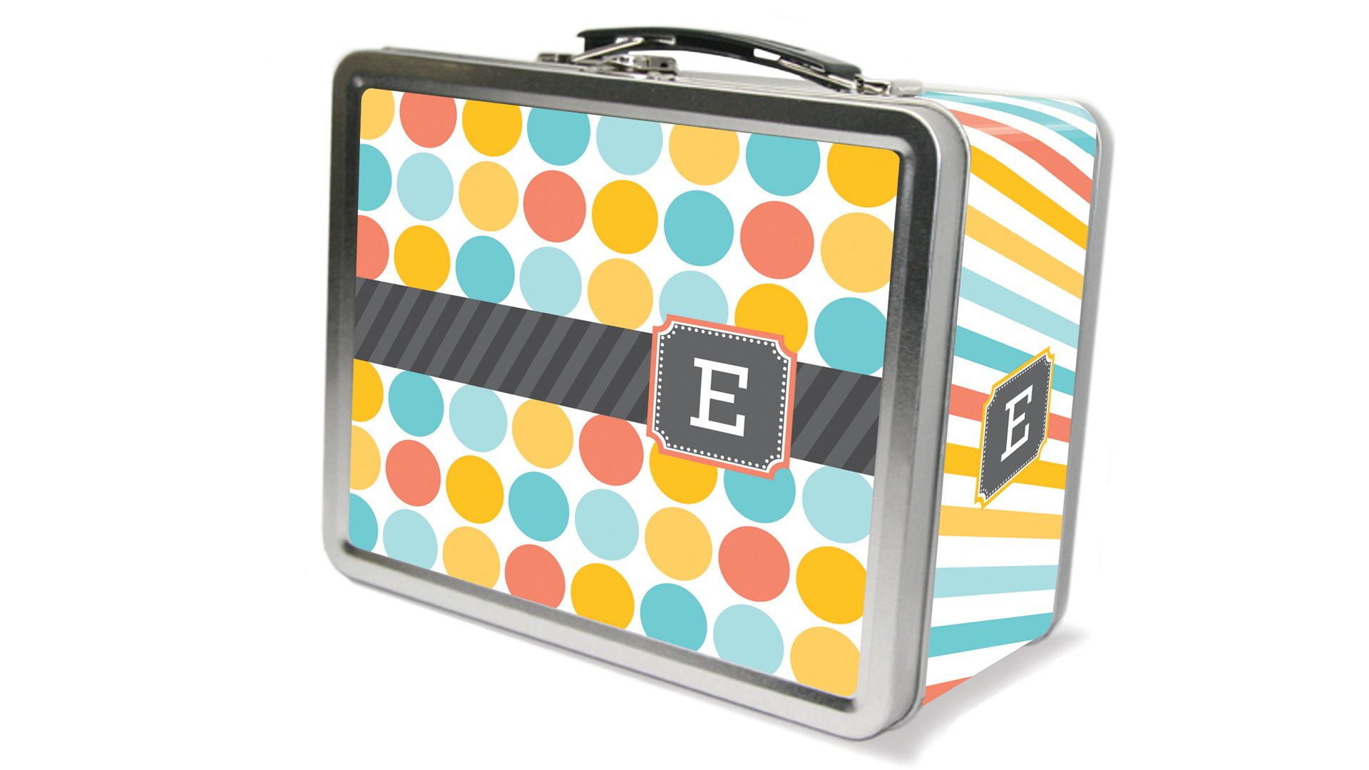 Freckle Box Multi Monogram Lunch Box