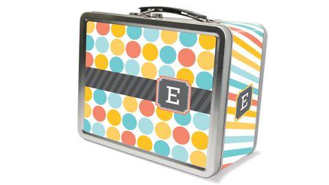 Freckle Box Multi Monogram Lunch Box
