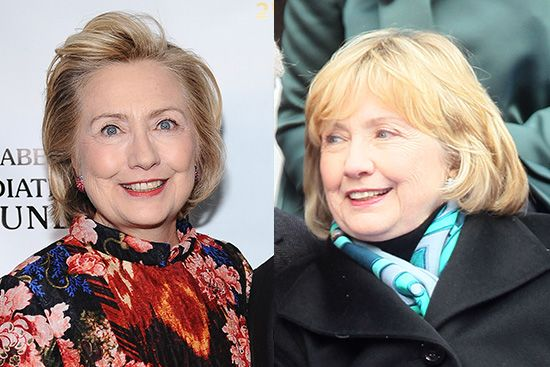 Hillary Clinton Ditches Her Signature Hairstyle