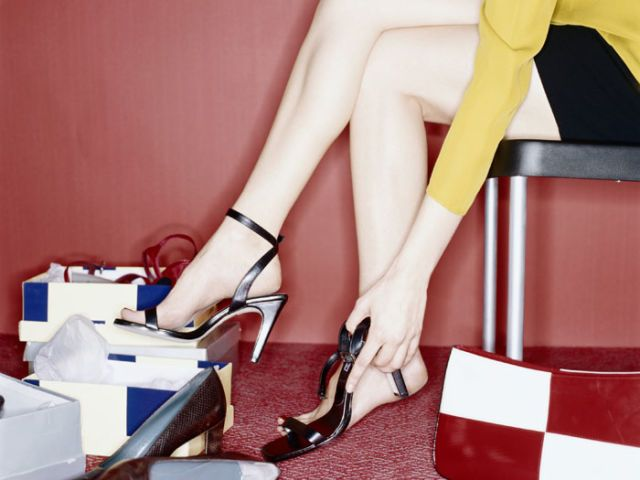 why women love shoes