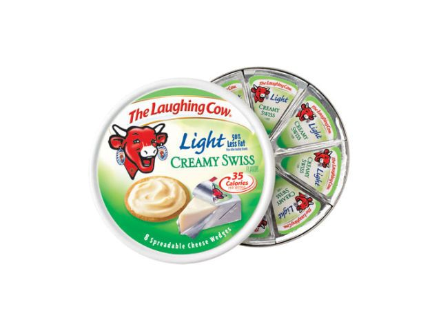 laughing cow light creamy swiss cheese