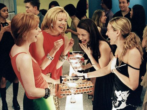 miranda carrie samantha and charlotte in sex and the city
