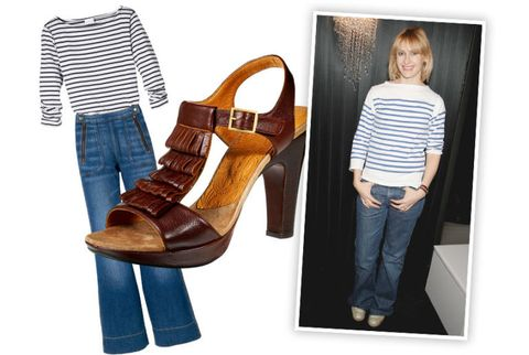 rebecca taylors nautical inspired outfit