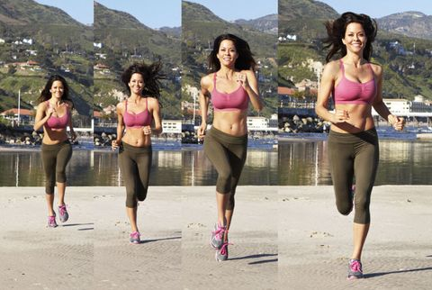 Brooke Burke Running