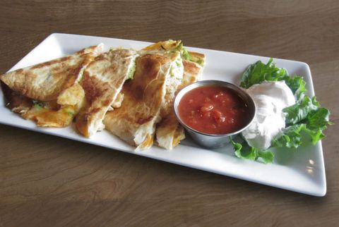 Ruby Tuesday's California Club Quesadilla