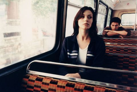 Stalking on the bus