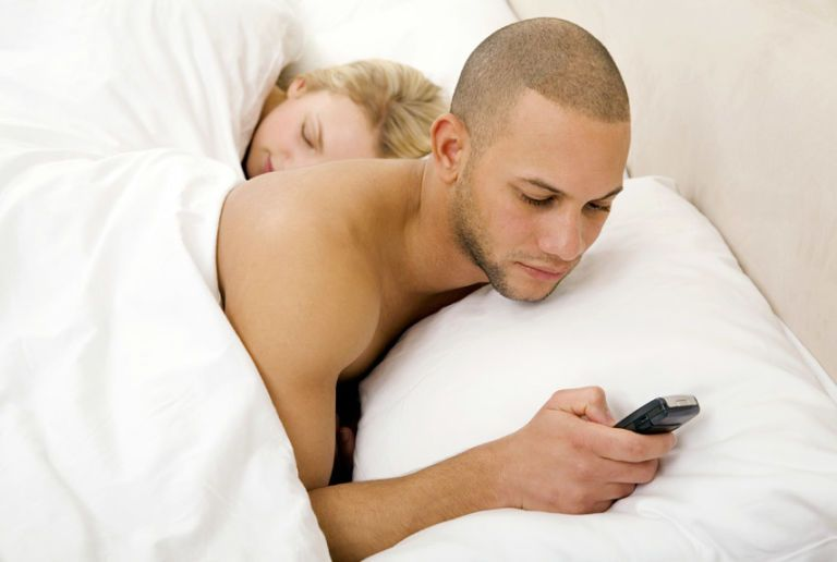 I found my husband texting another woman