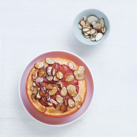 Food, Cuisine, Ingredient, Dish, Recipe, Breakfast, Peach, Nuts & seeds, Fast food, Meal,
