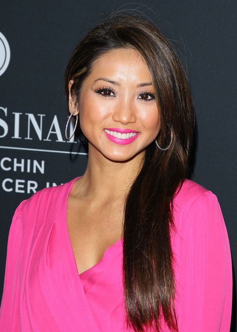 Extra-long locks: Brenda Song