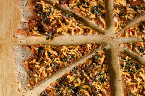 Gluten-Free Almond and Buckwheat Flour Pizza