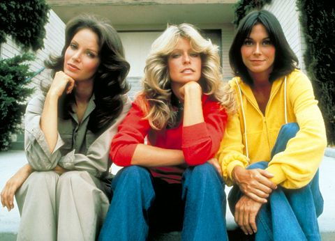 Jaclyn Smith, Kate Jackson, and Farrah Fawcett