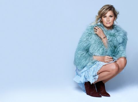 "On why she loved Miranda Lambert's tweet, ""Knowing what you want, doesn't make you a bitch:"""