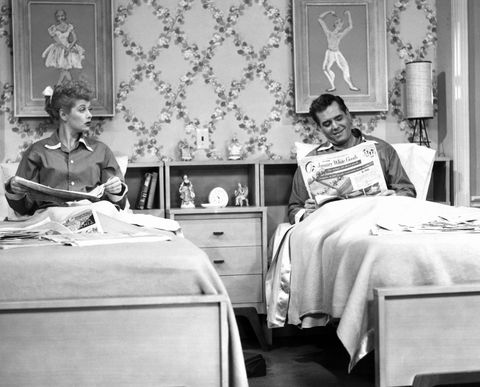 I Love Lucy Separate Beds