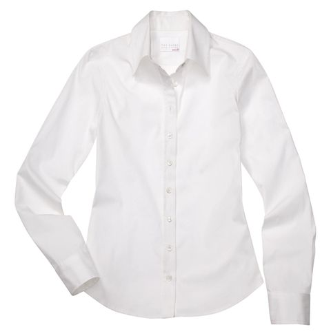 A tailored white shirt