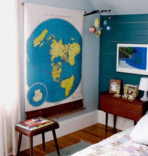 maps for kids rooms