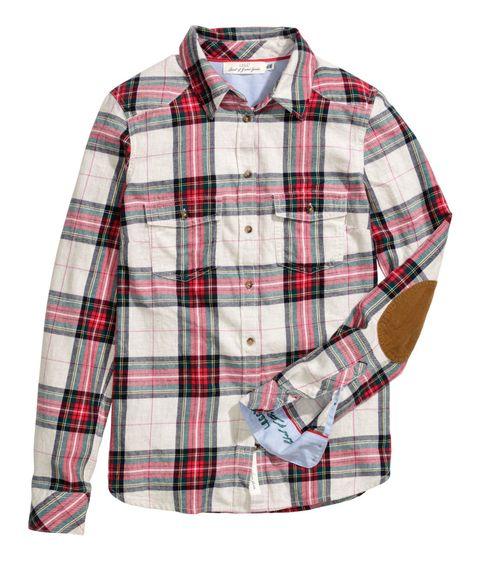 Clothing, Plaid, Product, Tartan, Dress shirt, Pattern, Collar, Sleeve, Textile, Shirt,