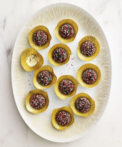Quickie Nutella truffles