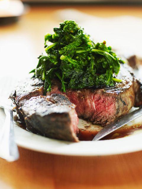 Food, Beef, Ingredient, Meat, Beef tenderloin, Cuisine, Steak, Flat iron steak, Garnish, Animal product,