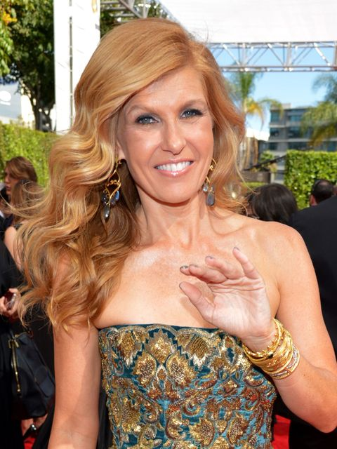 2013 Emmys Best Hairstyles, Connie Britton