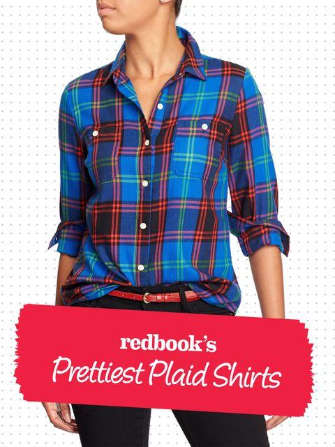 Blue, Plaid, Dress shirt, Collar, Sleeve, Shoulder, Tartan, Pattern, Textile, Shirt,