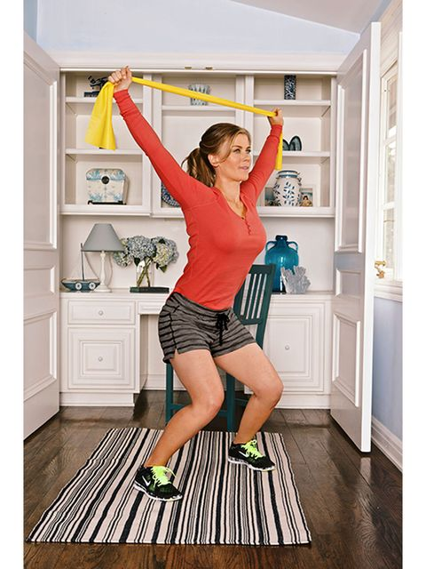 ali sweeney resistance band workout