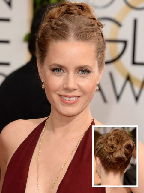 Amy Adams, Golden Globes 2014, hairstyles