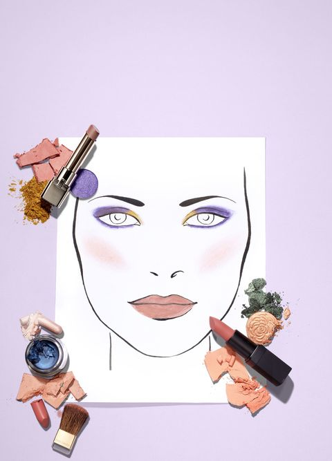 party makeup for skin tone