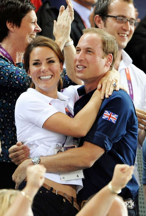 William and Kate romance