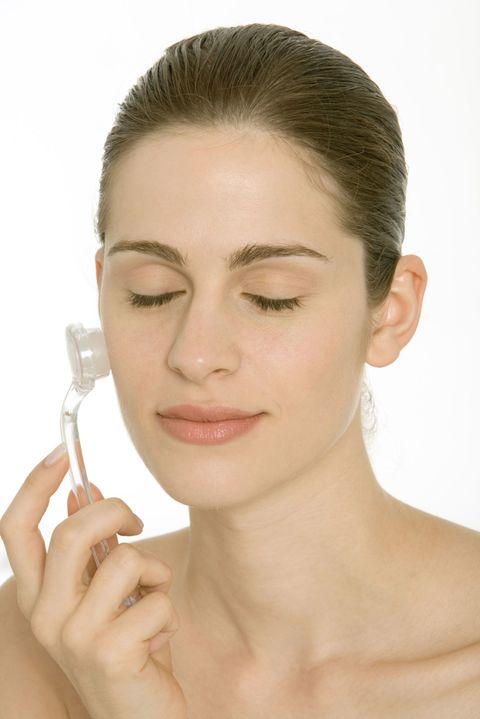 Try a sonic cleansing system