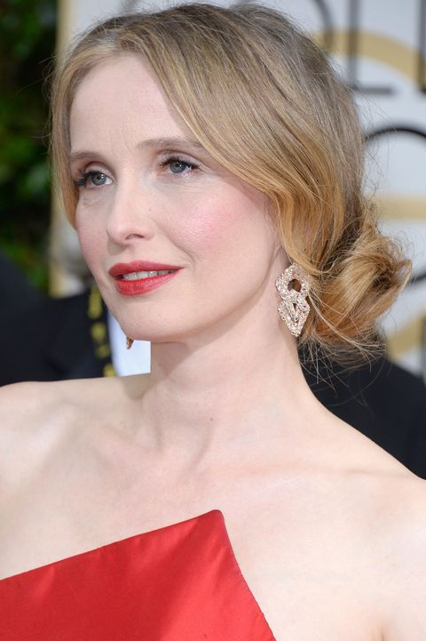Julie Delpy, Golden Globes 2014, hairstyles