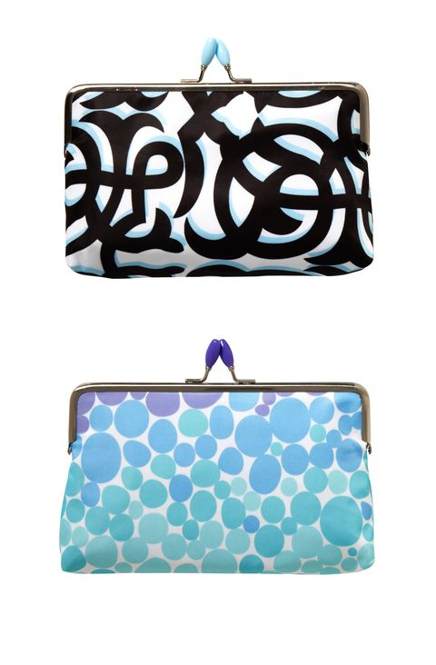 Sonia Kashuk Frame Purse in Dots