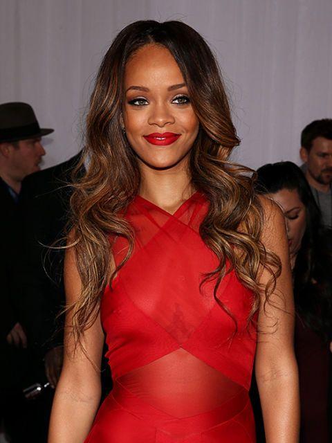 Rihanna, grammys, celebrity hairstyles, grammy hairstyles