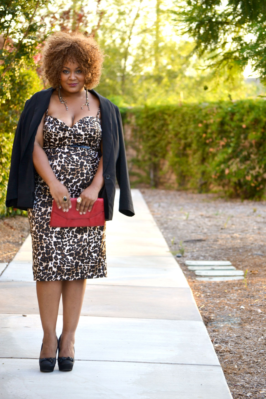 how real women wear animal print
