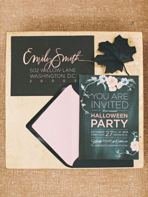 halloween party ideas from style me pretty living
