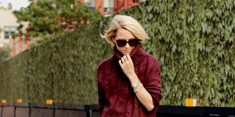 burgundy outfit ideas