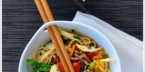 Thai Steak and Noodles