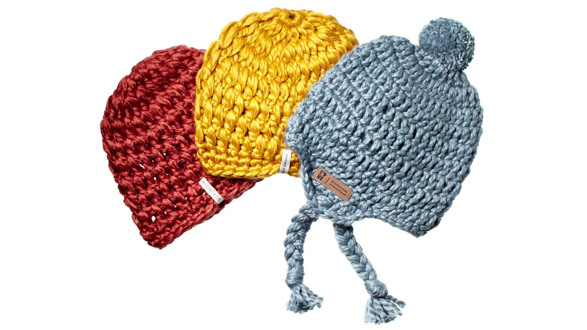 Krochet Kids International hats