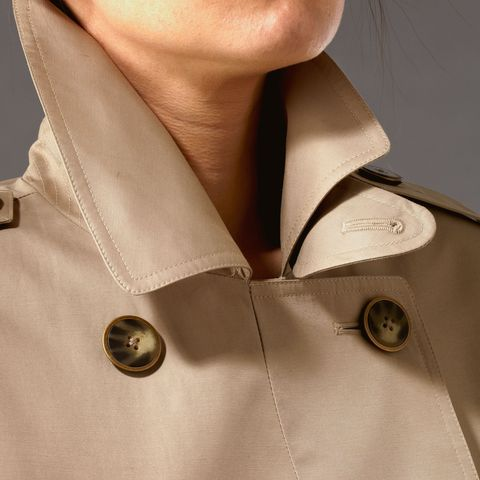 trench coat collar