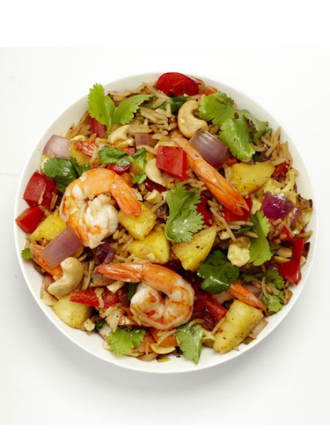 Thai Pineapple Shrimp Fried Rice Recipe