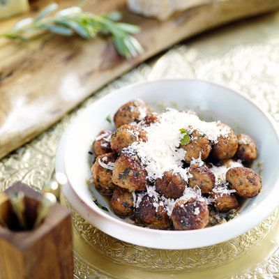 Mini Chicken Meatballs Recipe Giada De Laurentiiss Chicken