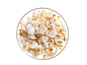 Cracked Pepper and Parmesan Popcorn