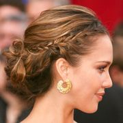 Ear, Earrings, Lip, Hairstyle, Skin, Chin, Forehead, Eyebrow, Eyelash, Style,